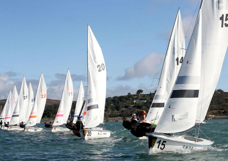 Action from last year's Junior All Ireland Championships at Schull Harbour