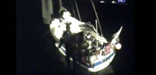 The three women were on passage from Norway to the Caribbean. See video below