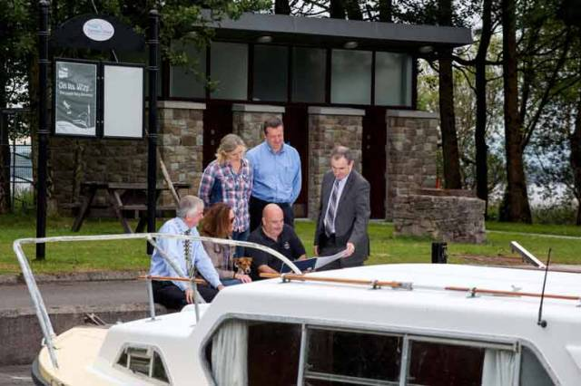 Boating Facilities Upgrade for Dromaan Harbour on Lough Derg's Western Shore