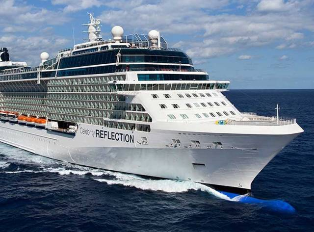 A Celebrity Cruise liner will be based in Dublin Port from 2018