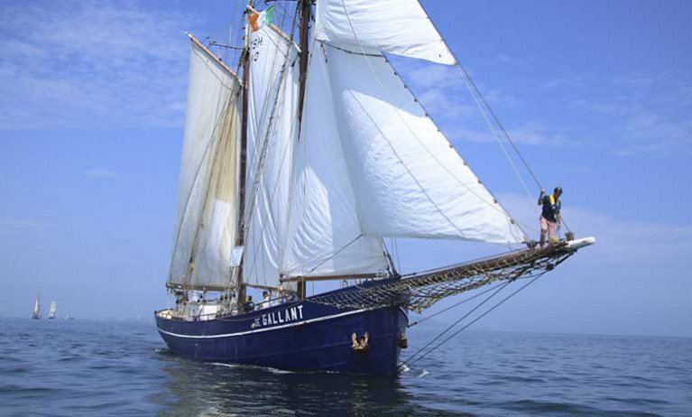 Sail Training Ireland Cancels all Tall Ship Voyages for 2020 due to Pandemic