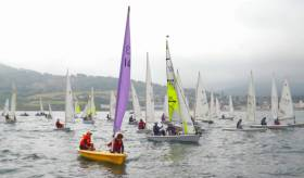 43 boats and over 70 youth sailors enjoyed four races at last year's Junior Regatta in Bray