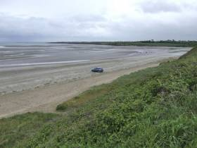The beach at Gormanston, Co Meath