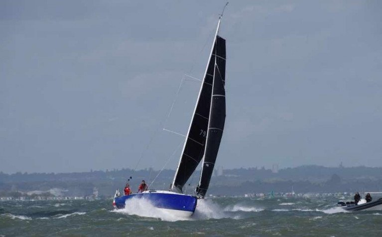 Bomby & Robertson's Sun Fast 3300 Fastrak XII Sails to Victory in RORC Race