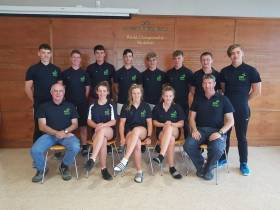 The Ireland Coupe de la Jeunesse team 2017