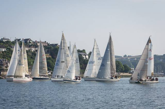 RCYC's June League first race was held in light airs. Scroll down for Photo Gallery