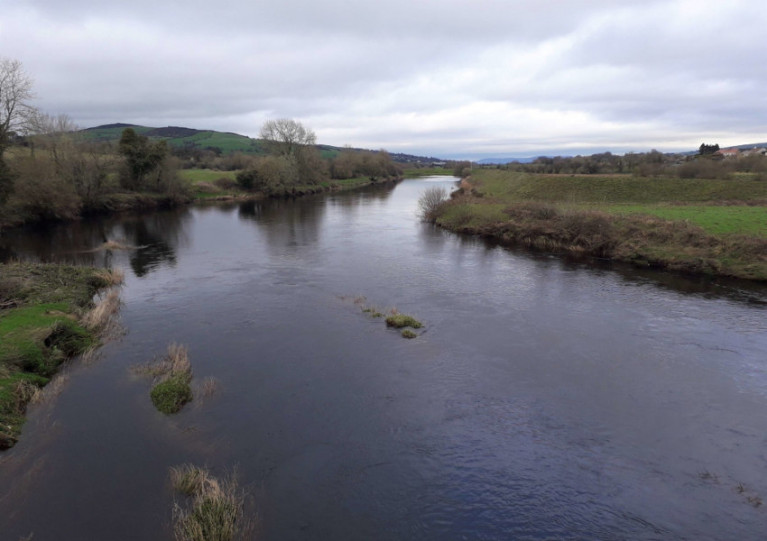 The River Finn flows from Lough Finn Co Donegal to the River Mourne in Co Tyrone
