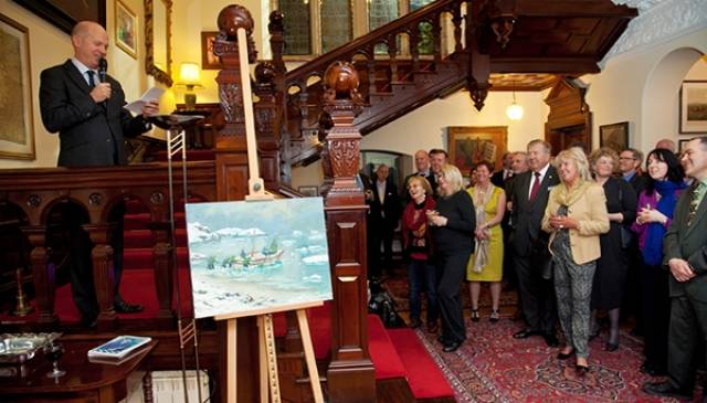 Athy Heritage Centre's launch of the James Caird installation