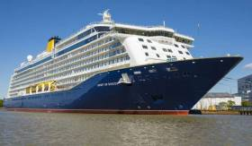 Spirit of Discovery will make her maiden call to Cobh today