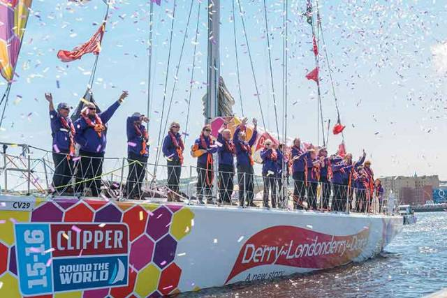 The Clipper Race has been instrumental in highlighting the waterfront as a major asset in Derry
