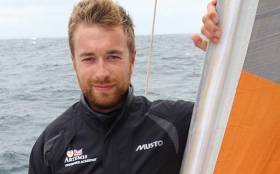Strangford sailor Andrew Baker