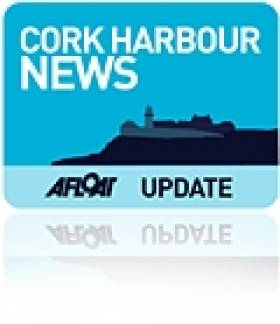 Spit Bank Lighthouse, Cobh, Cork Harbour Undergoes Maintenance Work