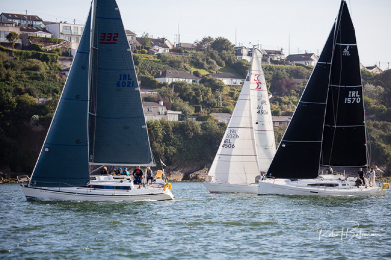 Racing in tonight's July League for cruisers at Royal Cork Yacht Club. Scroll down for photo gallery