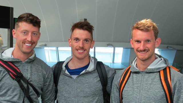Ireland Team Leave for World Rowing Championships