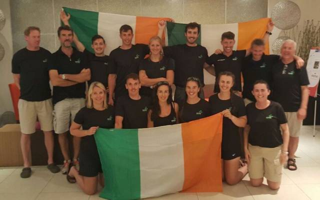 The Ireland team and mentors which travelled to Florida.