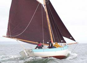 One of the most attractive boats to be built in Ireland in the past decade, the 25ft Shannon Estuary cutter Sally O'Keeffe will be the focal point of a pub gathering in Carrigaholt on the Loop Head peninsula on the night of Friday 23rd February.