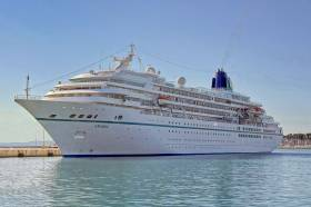 German operated cruiseship Amadea is on call to Dublin today.