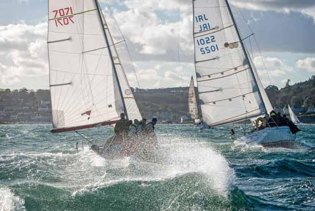 Cruiser racing in Cork Harbour – national and local racing results for cruisers are calculated under IRC and ECHO handicap systems. Saturday's ICRA conference in Limerick is calling for debate on a future direction for cruiser–racing in Ireland