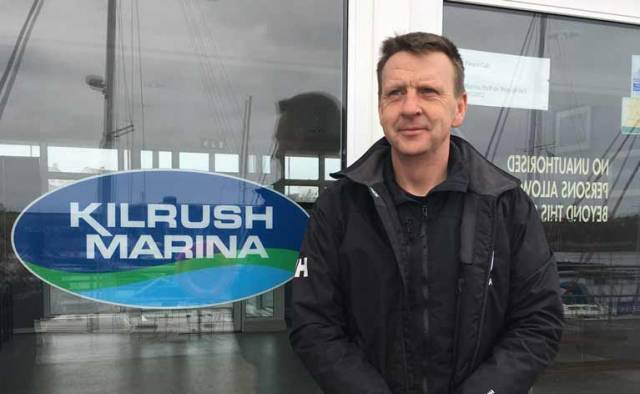 Simon McGibney has been appointed the new manager at Kilrush Marina in Co. Clare