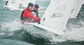 Charles Apthorp and Alan Green of the National Yacht Club will race in the Flying Fifteen World Championships in New Zealand