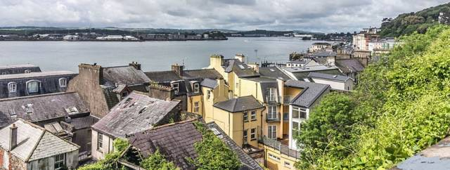 Cork Harbour as seen from Cobh