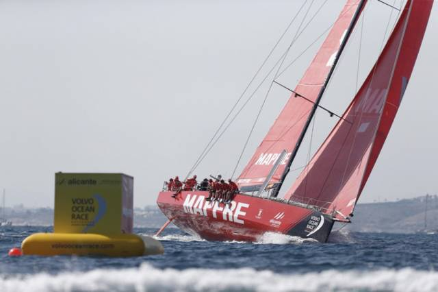 MAPFRE and crew sail to a home victory in the first in-port race