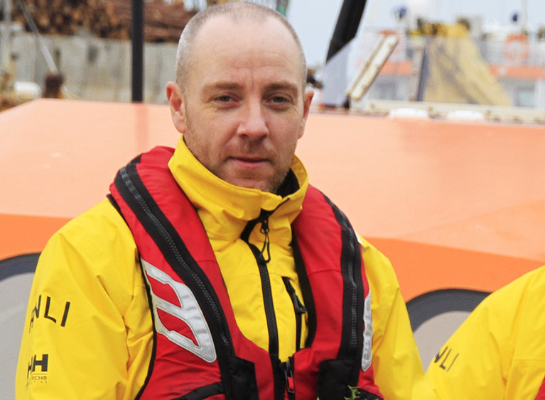 First 'Shout' for Lifeboatman Peter During Late Night Callout for Wicklow RNLI