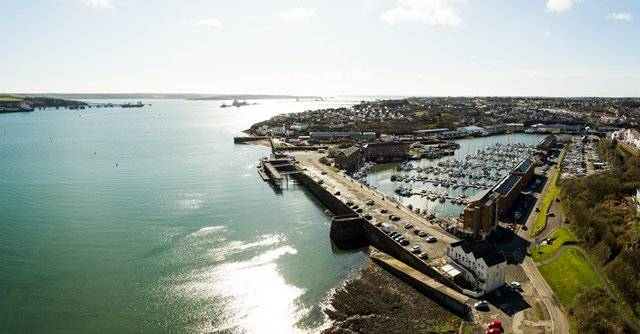 Milford Haven Marina & Waterfront in south-west Wales