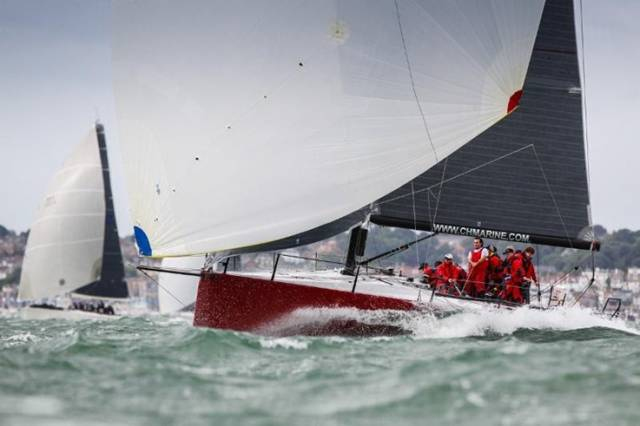 Anthony O'Leary will be racing Ker 40 Antix, this September, flying the burgee of the Royal Cork Yacht Club