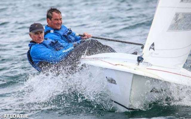 Locals Andy McCleery and Colin Dougan (PSC) are competing at this weekend's Flying Fifteen Northern Championships at Strangford Sailing Club