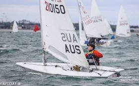 George Kingston was the winner of the DBSC Laser Standard division race