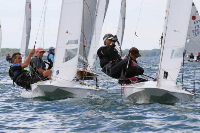 The 2019 Fireball World Championships hosted by Pointe Claire Yacht Club in Canada