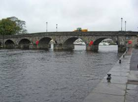 Carrick Bridge in Carrick-on-Shannon