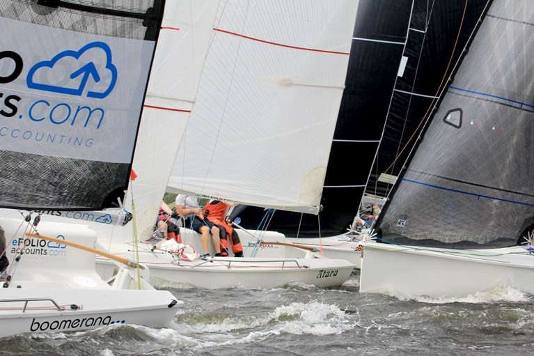 Rob O'Leary's 'Dutch Gold' Wins 1720 Baltimore Cup on Countback