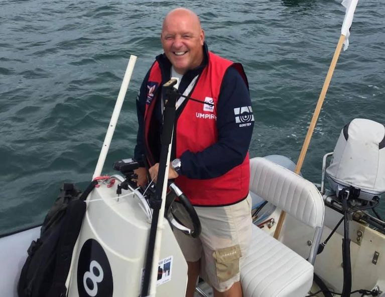 Bill O'Hara has been awarded an OBE for his services to sailing