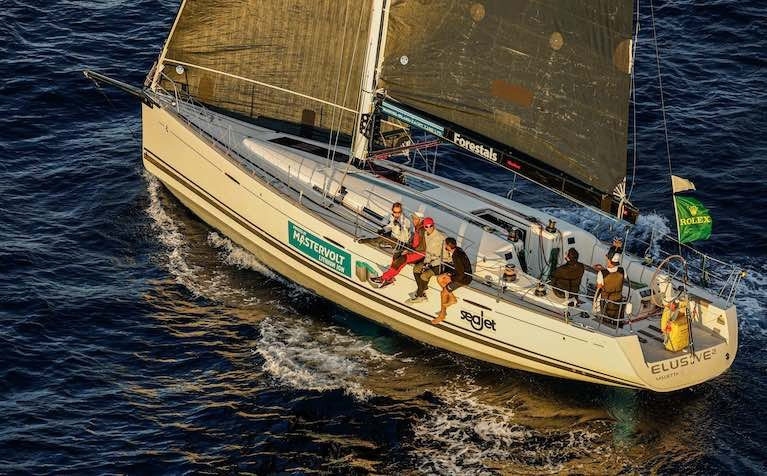 Appropriately named Elusive is the first yacht in 40 years for a boat to repeat success in consecutive years in the Middle Sea Race