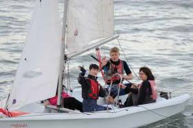 28 Lakers members participated during the season and the final outing of the season saw trainees being joined on the water by their parents, demonstrating that sailing really is a sport for all