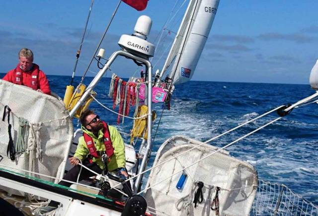 Matthias Eigenmann from Dare To Lead on Day 1 of the Garmin American Challenge