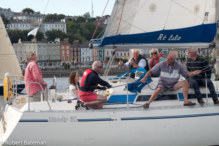 Cruiser acing in the 2020 Cove Sailing Club season in Cork Harbour