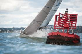 Classes one, two and the 1720 sportsboats started beyond Whitegate on the Eastern bank and sailed two races round the cans. See photo gallery below