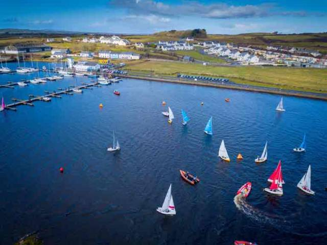 Twenty teams are taking part at the Kilrush Marina venue in Count Clare representing colleges across Ireland, Northern Ireland and international teams from Strathclyde University in Scotland.