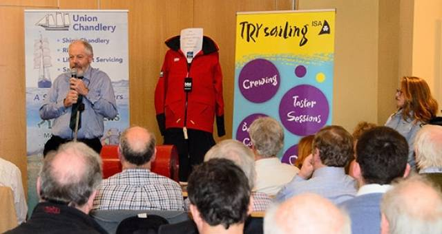 The Irish Sailing Association Cruising Conference attracted 90 sailors to Howth Yacht Club for a range of talks