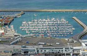 Dun Laoghaire Marina is one of few Irish marinas offering petrol supplies