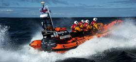 Red Bay RNLI Inshore lifeboat