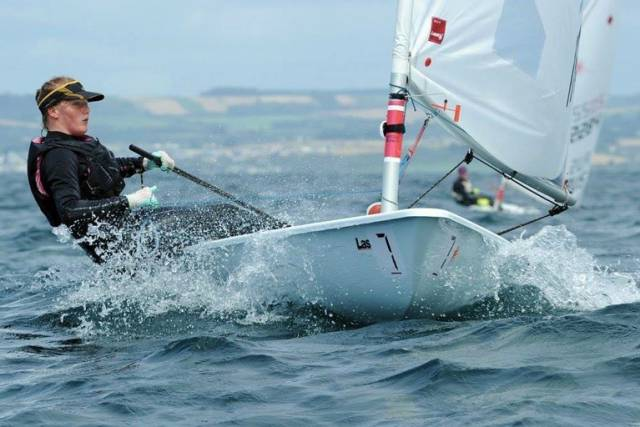 Euro Champ – Aoife Hopkins of Howth Yacht Club