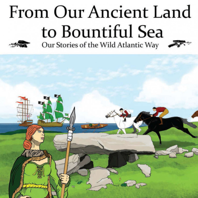 Launch of New Irish Children's Book on Connemara is a Boost to Clifden Lifeboat Team