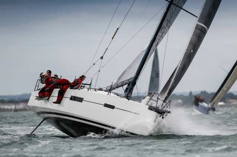 Still hot – the 2016 Marc Lombard-designed 45 Pata Negra will carry the Howth colours in August's SSE Renewables Round Ireland Race