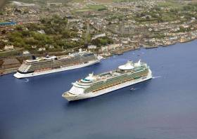 Cruise ships in Cork Harbour