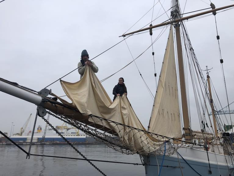 Limerick Ketch Ilen's Longest Night at Sea to Seek Jupiter & Saturn