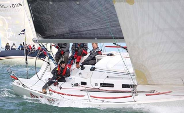 The Kelly family's Storm will be a class one contender in June's ICRA National Championships at Howth Yacht Club